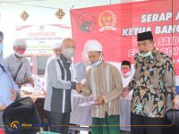 Foto: Anggota DPR RI, MH. Said Abdullah, saat menggelar reses di Desa Gelugur, Kecamatan Batuan dan Desa Gadding, Kecamatan Manding, Sumenep.