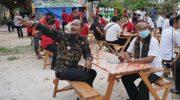 Foto: Rombongan Pejabat Pemkab Gianyar Bali saat Studi Komparstif ke Pemdes Sekapuk dan wisata Setigi.