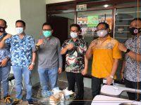 Foto; Peresmian Kantor Lembaga Bantuan Hukum Arief of Law (LBH AIL), di Jalan Semeru, Kecamatan Sumbersari Jember.