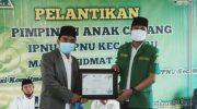Foto: Pelantikan pengurus IPNU-IPPNU Kecamatan Waru, Pamekasan.