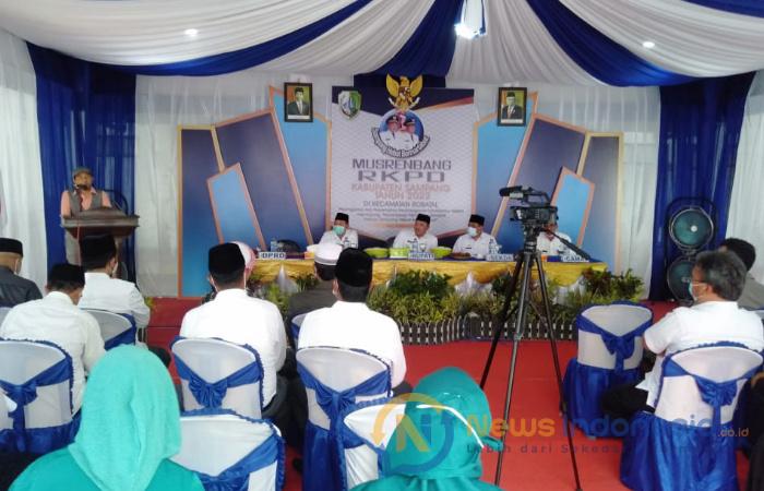 Foto: Pelaksanaan Musrenbang Rencana Kerja Pemerintah Daerah Kecamatan Robatal, di pendopo kecamatan setempat.