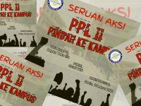 Seruan aksi mahasiswa STKIP PGRI Sumenep, Madura. (Foto: Istimewa)