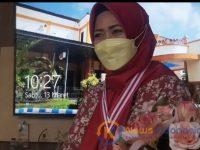 Foto: Maria Ulfa Puspitasari, salah seorang perawat inspiratif RSUD dr. H. Moh. Anwar Sumenep.