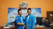 Foto: Syaiful Harir (kanan), usai terpilih menjadi Ketua Dewan Pengurus Daerah (DPD) Komite Nasional Pemuda Indonesia (KNPI) Kabupaten Sumenep.