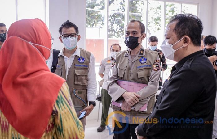 Foto: Bupati Jember, Hendy Siswanto Menerima Kunjungan Kerja Tim Tenaga Ahli Pendamping Satgas Covid-19.