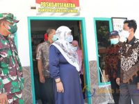 Foto: Wakil Bupati Sumenep, Hj. Dewi Khalifah, bersama jajaran Forkopimda, saat melakukan peninjauan lokasi yang dijadikan Rumah Isolasi Darurat Covid-19 (RIDC) dan Ruang Isolasi Terpadu Covid-19.