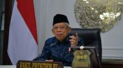 Foto: Wakil Presiden (Wapres) RI, Ma'ruf Amin.