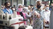 Foto; Wakil Wali Kota, Dedie A Rachim, saat membuka Bogor Coffee Expo 2021.