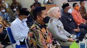 Foto: Kepala ATR/BPN Kota Depok, Eri Juliani Pasoreh (2 dari kiri) saat lounching DOS-BPN Kota Depok.