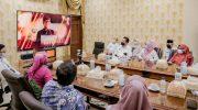 Foto: Kabupaten Jember mendapatkan penghargaan APE dari Kementerian PPPA yang dilakukan secara daring.